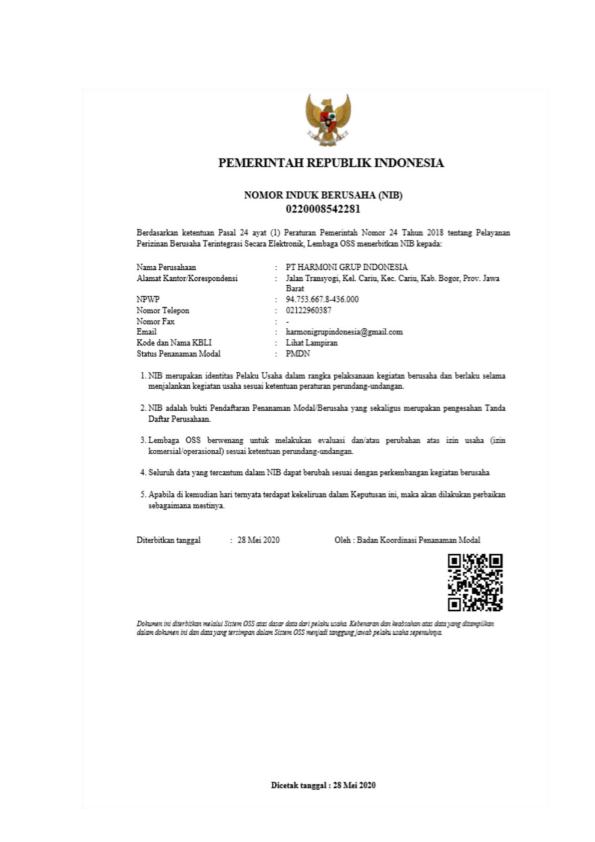 COMPANY PROFIL GRIYA HARMONI ALAM V_017